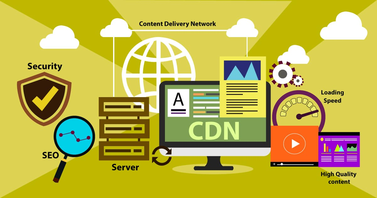 What is a CDN (content delivery network) and the Advantages of CDNs for website hosting?