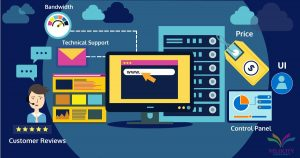 factors to consider when selecting a web host