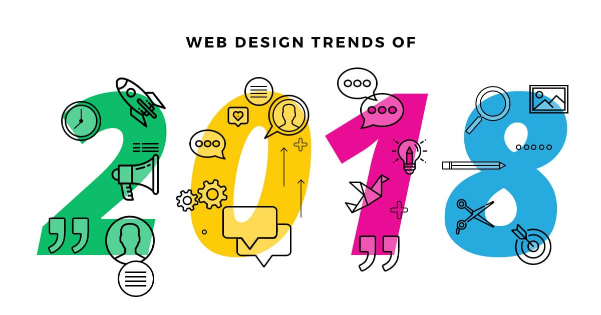 Website Designing Trends for 2018 2