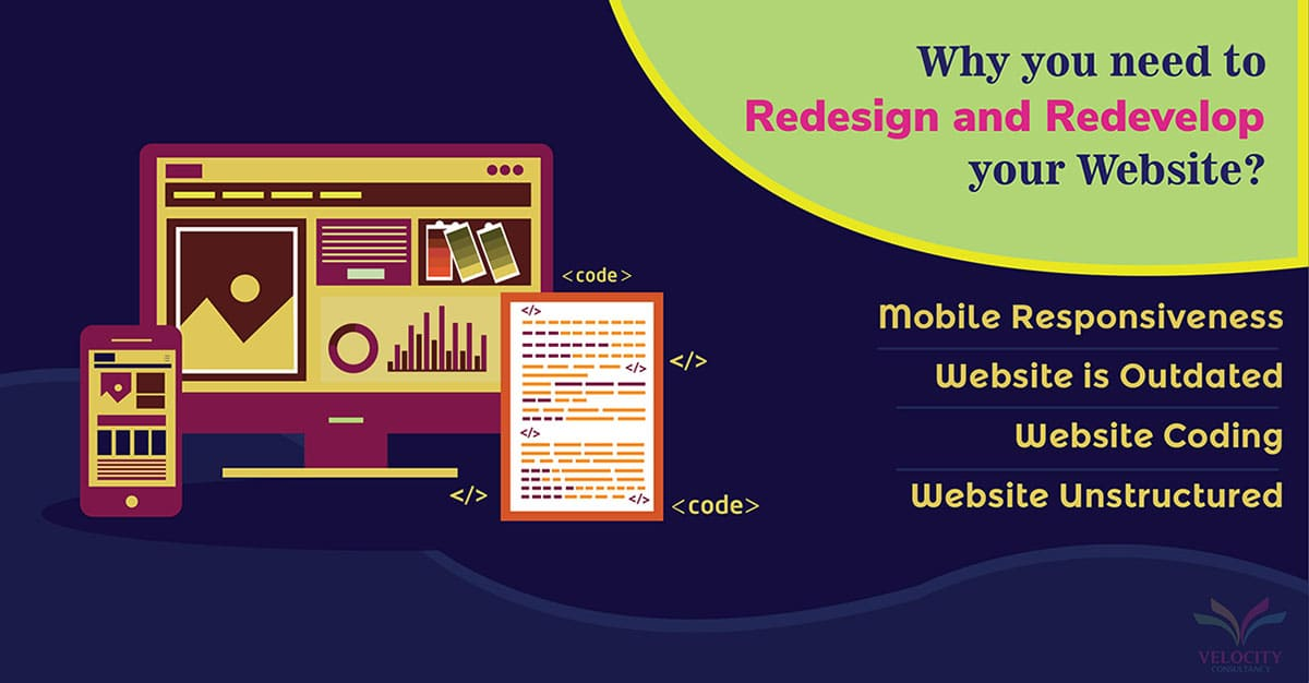 Redesign and Redevelop your Website